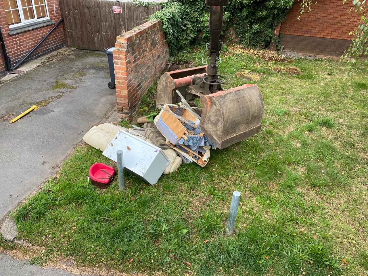 RJC Plant Services - Fly Tipping Collection